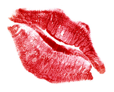 stock-photo-2479025-perfect-kiss-with-red-lip-print