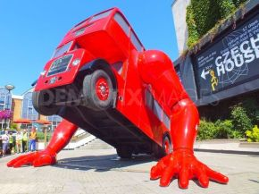 Watch This London Bus Doing Push-ups