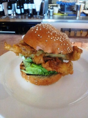 Shrimpy's: Soft Shell Crab Burger Love