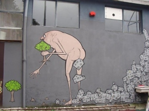 Street Art – Food ForThought….