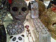 Butler & Wilson skull phonecase