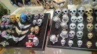 Butler & Wilson skull rings