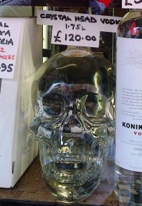 Gerry's Old Compton St, Crystal Head vodka