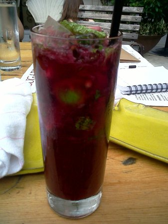Beetroot mojito, Sugarcane, Miami