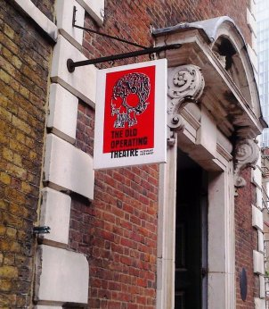 The Old Operating Theatre sign