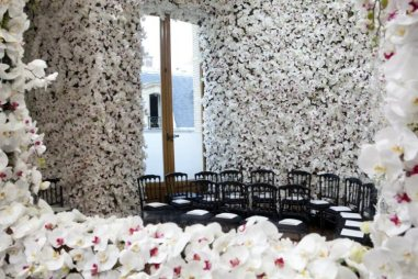 dior garden couture orchids