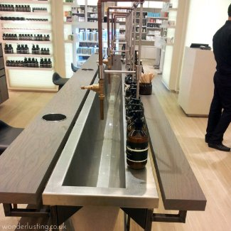 Selfridges Beauty Workshop Aesop sink