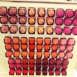 Selfridges Beauty Workshop Bourjois lipsticks