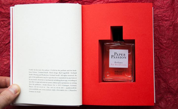 Paper Passion perfume box