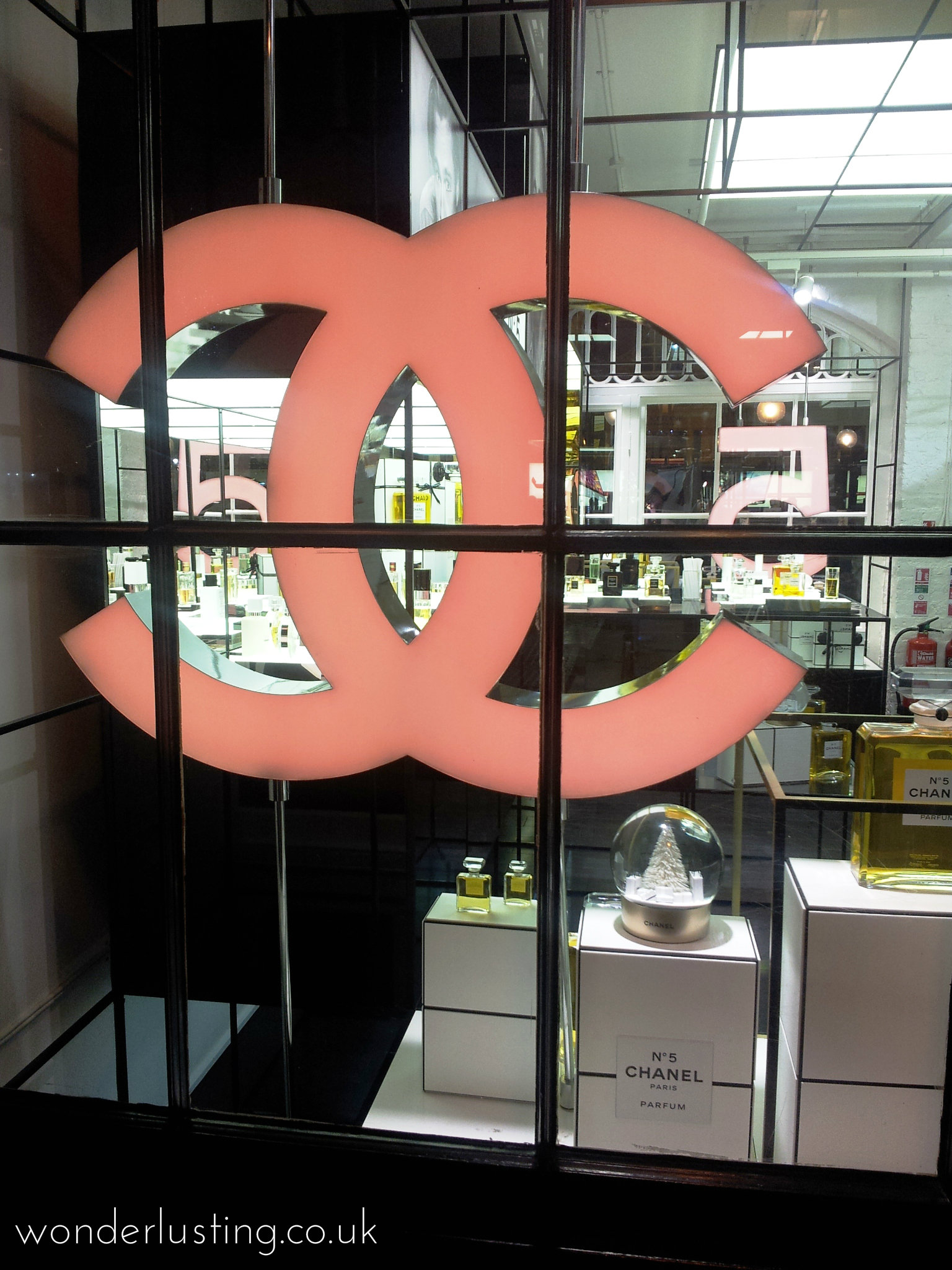 Chanel pop up Covent Garden
