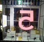 Chanel pop-up giant perfume bottle