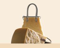 cheese handbag