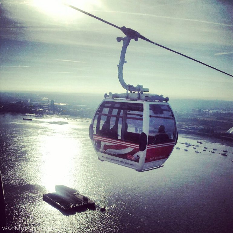 London cable car 1