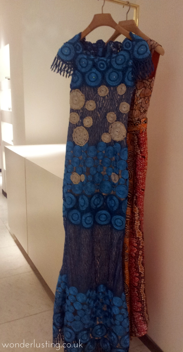Ndani Selfridges Lanre Da Silva-Ajayi blue dress