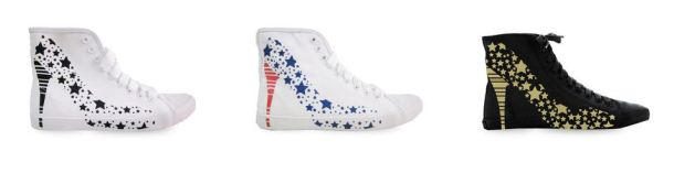 Be&D Big City Sneakers - stars