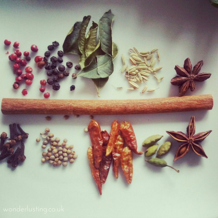 fish pho spices