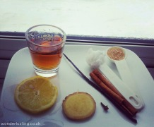 Hot buttered rum - coconut oil ingredients