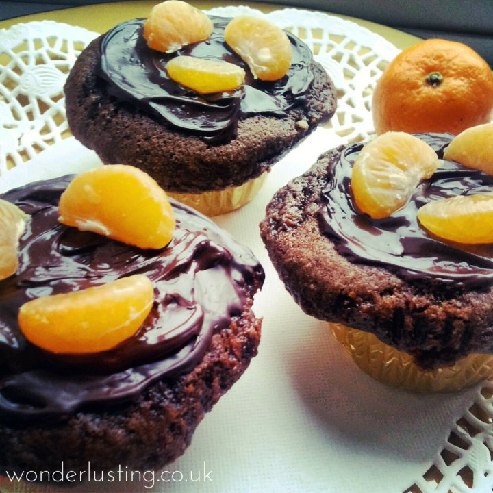 choc, carrot and clementine cake