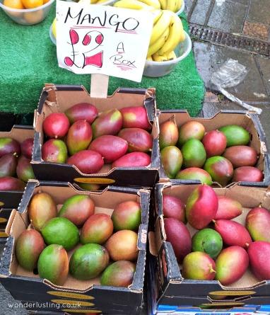 Lewisham market - mangos