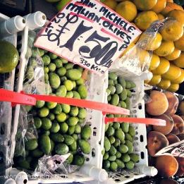 Lewisham market - olives