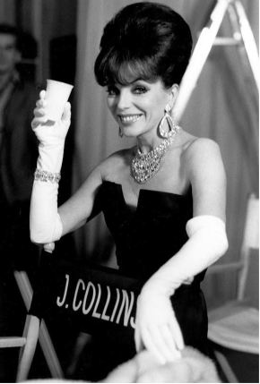 The Fantabulous Joan Collins: Barefaced Beauty To Glamazon