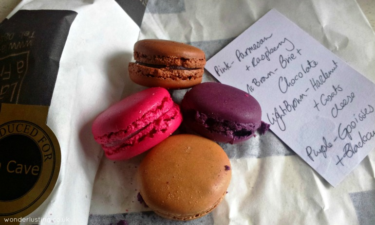 La Cave a Fromage cheese macarons