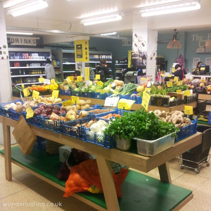 The People's Supermarket fruit and veg