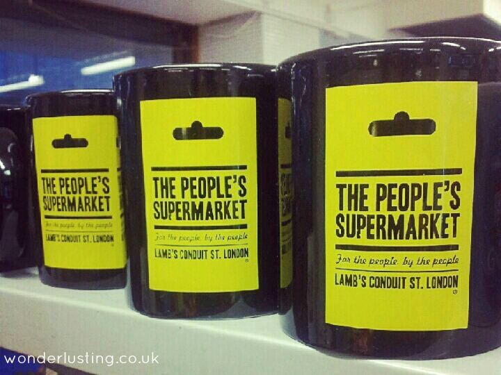 The People's Supermarket mugs