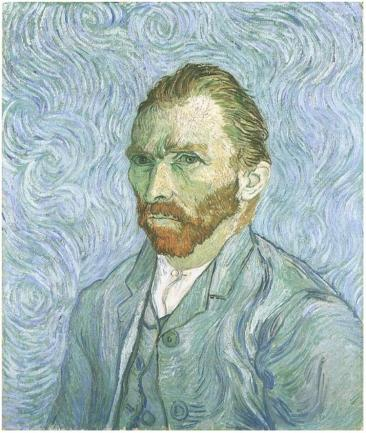 Van Gogh Self-Portrait 1889