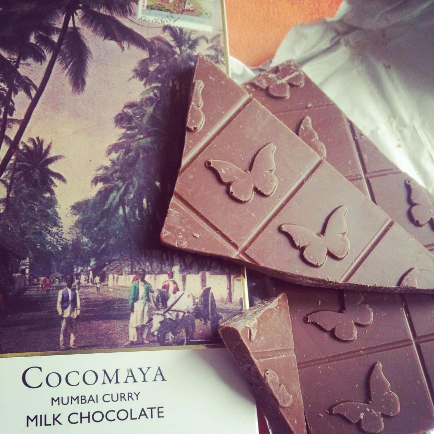 Cocomaya Mumbai chocolate bar