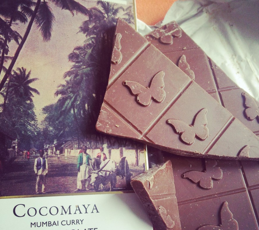 Cocomaya Mumbai chocolate bar