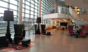 Hotel La Tour lobby