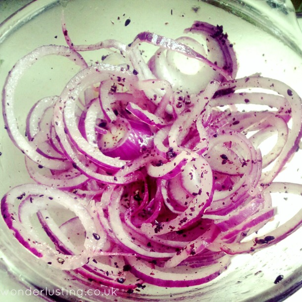 Red Onions Recipe Red Onion Sumac Sesame