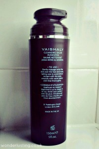 Vaishaly cleansing balm