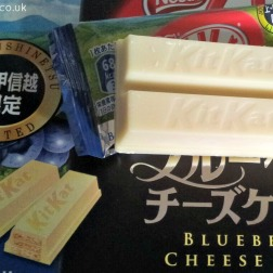 Blueberry cheese cake Kit Kat