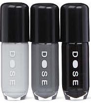 DOSE Black Beauties nail polish set