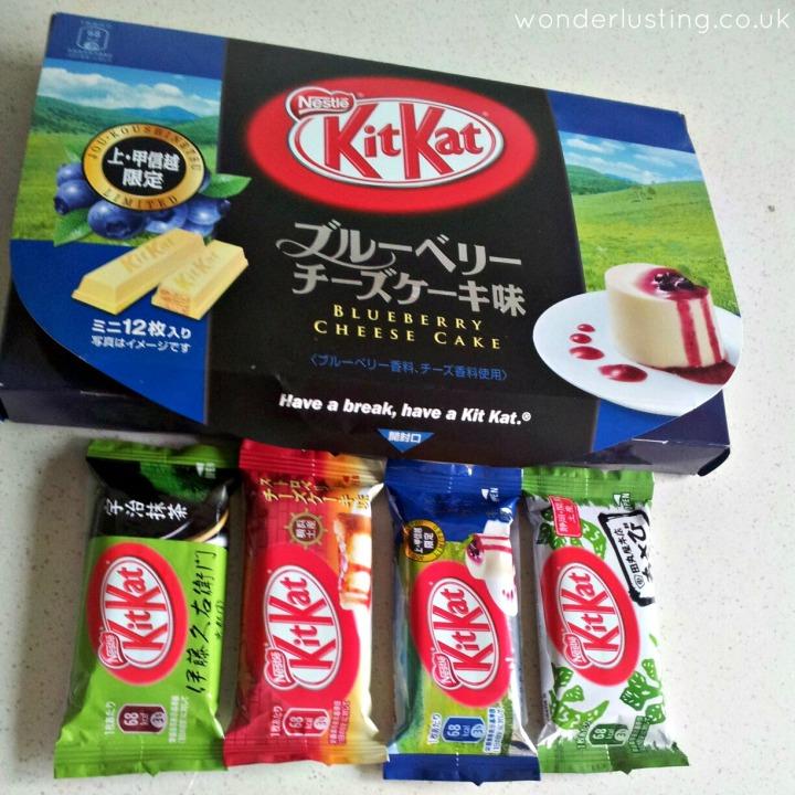 Japanese kit kat