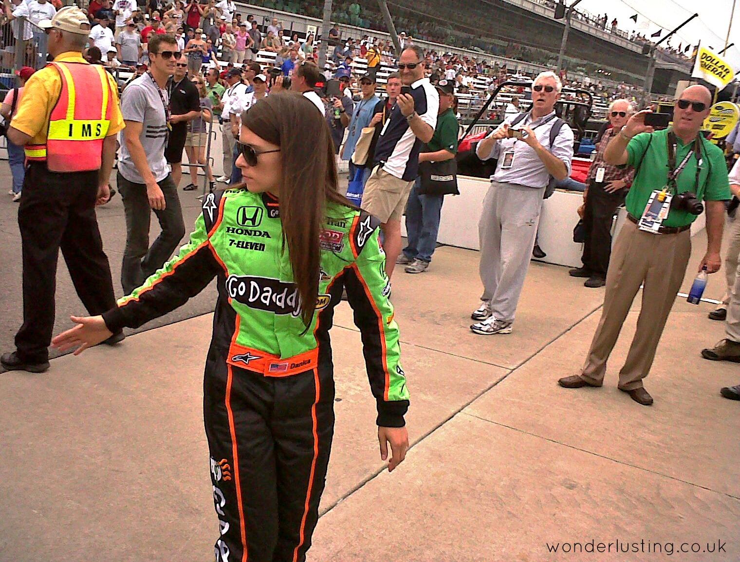 Danica Patrick - the most successful female driver