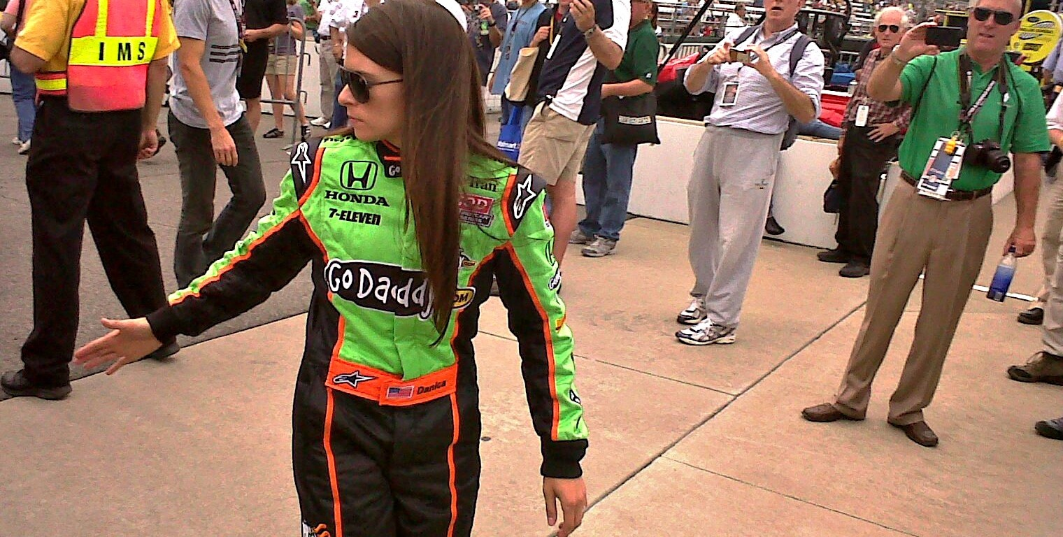 Danica Patrick - the most successful female driver