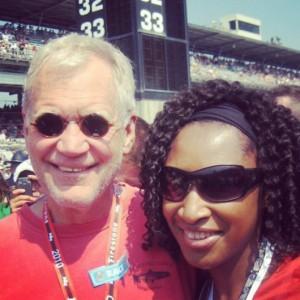 Indianapolis native and petrolhead, David Letterman