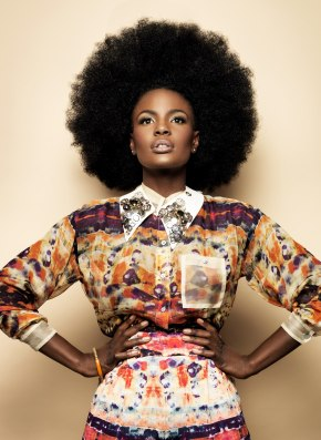 Make Some Noise: Stunning Shingai Signs Up As Face of Mizani