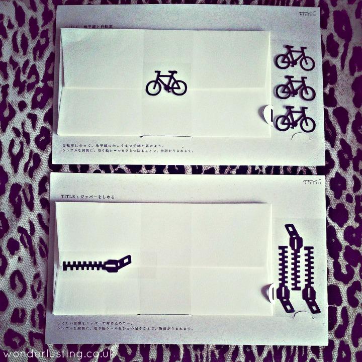 Midori letter writing sets