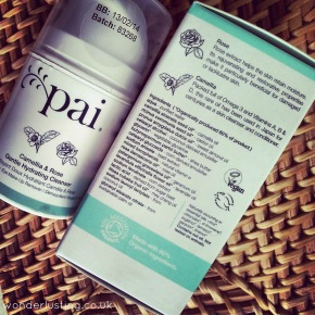Natural Beauty: Pai Camellia and Rose Gentle Hydrating Cleanser Review