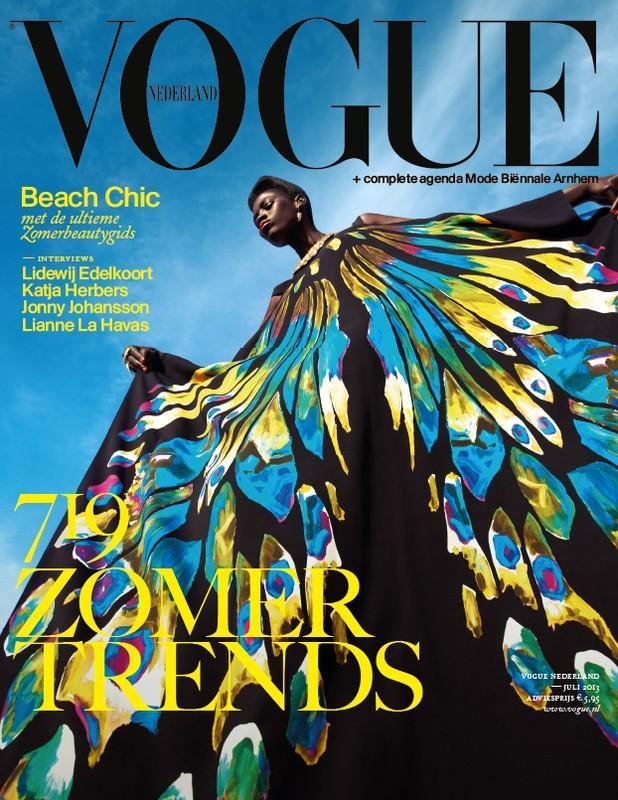 Vogue Netherlands July 2003 cover