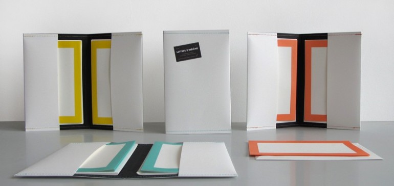 Le Pigeon Voyageur Stationery Set, Letters to Helena