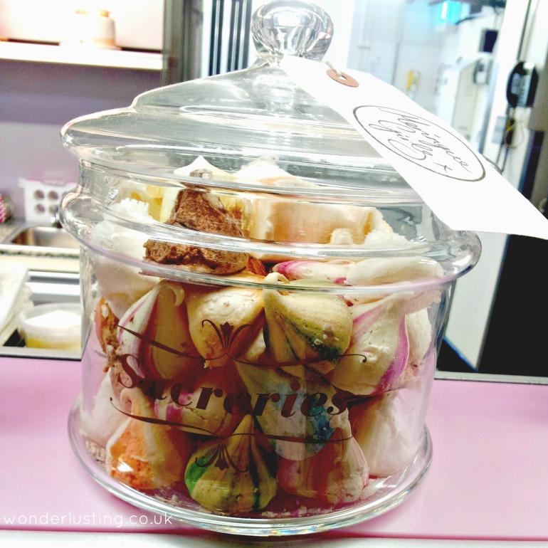 Meringue Girls meringue kisses jar