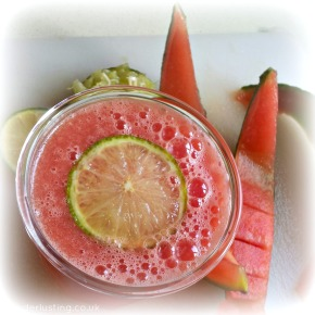Feeling Hot Hot Hot? The Most Refreshing Drink Ever ~ Watermelon Limeade