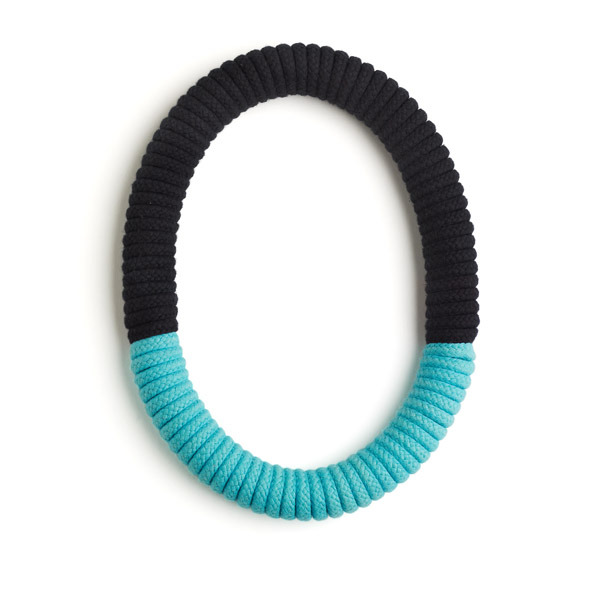 Eleanor Bolton turquoise black necklace