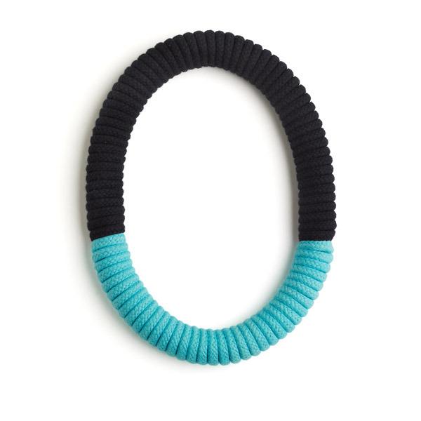 Eleanor Bolton turquoise black necklace