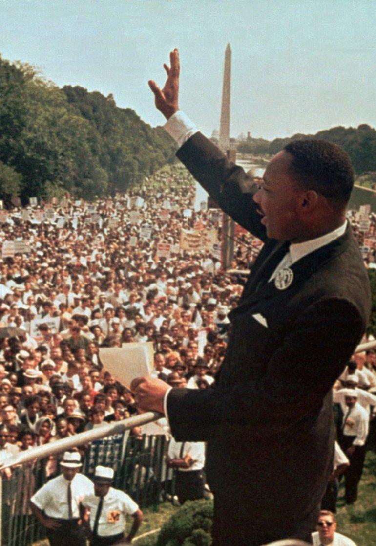 Dr Martin Luther King Jr, 28 August 2013, Washington DC